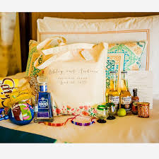 wedding hotel welcome bags creative wedding welcome bag ideas brides