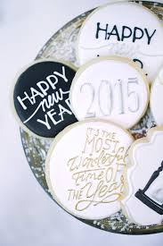 New Year Decorated Cookies by 89 Best New Year U0027s Eve Ideas Images On Pinterest Decorated