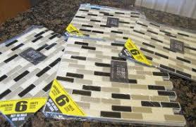 removable kitchen backsplash smart tiles removable kitchen bathroom backsplash for apartment