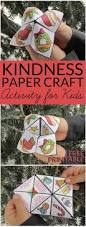 random acts of kindness for kids christmas cootie catcher paper