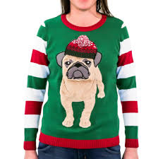 pug sweater novelty sweaters sweater kit