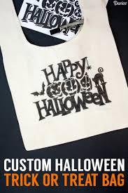 Halloween Treat Bag Printables Diy Trick Or Treat Bag Halloween Tutorial Darice