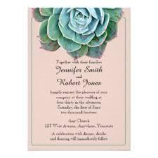 Succulent Wedding Invitations Succulent Invitations U0026 Announcements Zazzle Com Au