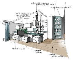 cuisine projet réalisation edeco du végétal dans la cuisine
