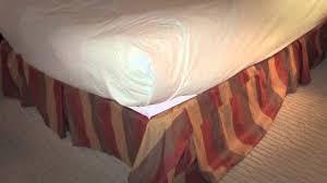 leinsohn textiles magic bed skirt video youtube