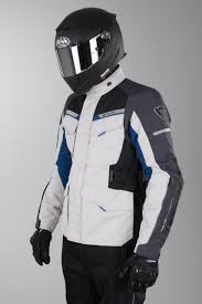 blue motorcycle jacket revit outback 2 motorcycle jacket silver blue now 14 savings