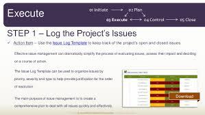 issue log template issue log template issues log template