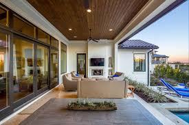 Outdoor Livingroom Spanish Contemporary 4844 Sterling Custom Homes