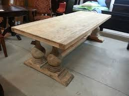 reclaimed wood dining room table home decor gallery