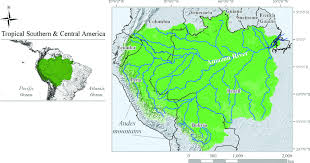 amazon basin fig 1 the amazon basin formed by the amazon river and its