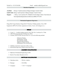 Inspector Resume Sample 100 Ndt Resume Grad Resumes Free Resume Example And Writing