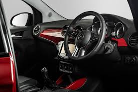 opel adam interior review opel adam jam 1 0 ecoflex