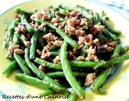 cuisiner des haricots verts recettes d une chinoise haricots verts frits à sec façon sichuan