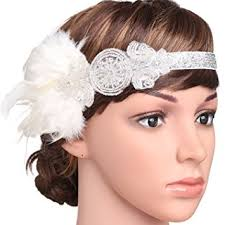 1920s hair accessories babeyond 1920s flapper headband roaring 20s great gatsby headband
