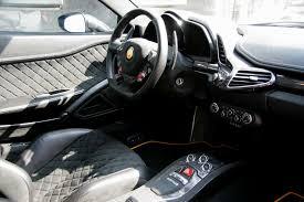 ford supercar interior ferrari 458 black carbon edition is darth vader u0027s supercar of