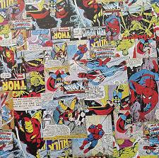comic wrapping paper decopatch collection on ebay
