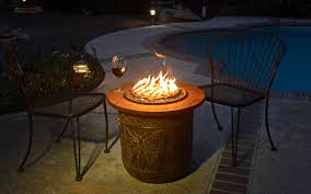 how to make a fire glass pit diy make a portable propane fire pit out of a flower pot the