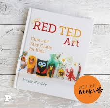 red ted art cute and easy craft for kids pysselbolaget fun