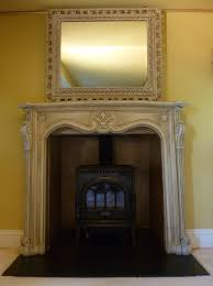 How To Shabby Chic by How To Shabby Chic A Fireplace And Gold Paint Effect By Lee Simone