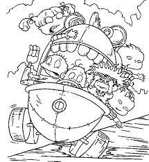 nickelodeon coloring pages coloring page