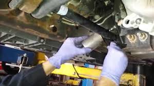 dodge durango fuel filter fuel filter change