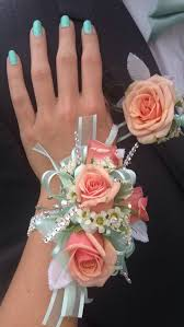 Mint Green Corsage Beautiful Corsage And Matching Coral And Mint Boutonniere Exactly