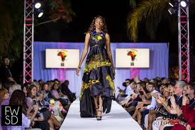 san diego based african designer hosts charity poolside fashion