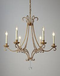 Horchow Chandeliers Visual Comfort Oslo 6 Light Chandelier