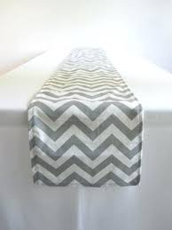 zig zag table runner zig zag table runners gray and white chevron table runner x in by
