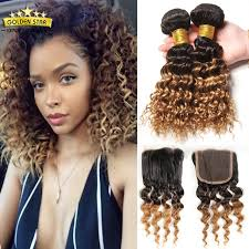 short hairstyles with closures 8a ombre brazilian curly hair with closure short bob human hair