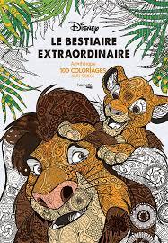 Le bestiaire extraordinaire 100 coloriages antistress Amazonfr