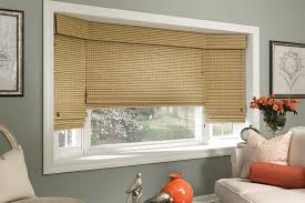 Best Blinds For Bay Windows Woven Wood Shades