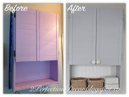 2perfection decor medicine cabinet makeover
