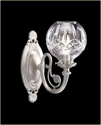 Crystal Wall Sconces Waterford Crystal Wall Sconces