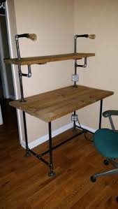 diy pipe computer desk pipe desk with shelving pipe desk shelving and pipes