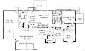 Single Story Ranch Style House Plans 100 Ranch Style Floor Plan Mascord House Plan 1250 The
