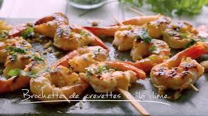 cuisine crevette brochettes de crevettes à la lime cuisine futée parents pressés