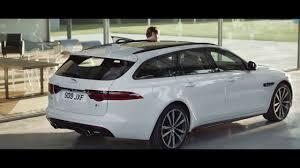 jaguar xf sportbrake 2018 gesture tailgate youtube