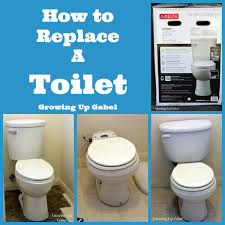 How To Replace Bathroom How To Replace A Toilet Diy Master Bathroom Remodel