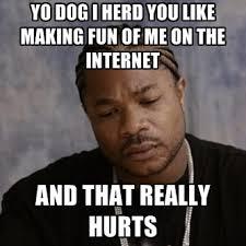 Yo Dog Meme - yo dog i herd you like making fun of me on the internet and that