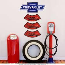 chevy bowtie logo large metal sign chevrolet gm automotive