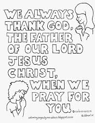 coloring pages for kids by mr adron colossians 1 3 free kid u0027s