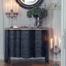 Miroir Industriel Maison Du Monde by Mango Wood Chest Of Drawers In Black W 110cm Versailles Maisons