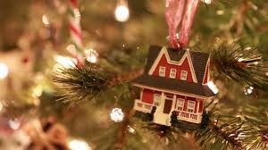 christmas tree house ornament stock video footage videoblocks