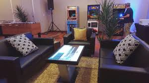 touch screen coffee tables are fun and useful for the home or