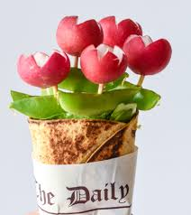food bouquets 20 ways to make your food look like flowers flower shaped foods
