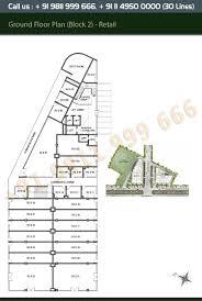 retail shop floor plan layout plan m3m tee point