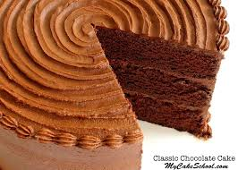 classic chocolate cake scratch recipe my cake