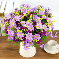 compare prices on fake daisy flowers online shopping buy low