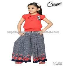 fashionable girls party dresses plazo set buy designer girls